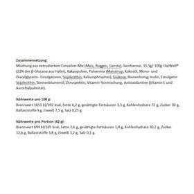 Chimpanzee Energy Quick Mix - Nutrition sport - miel & céréales & cacao 420 g
